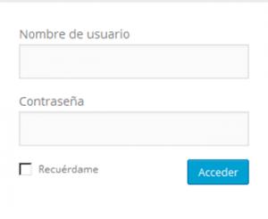 acceder blog usuario